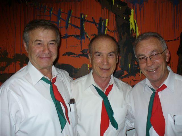"The ""Three Tenors"" of the Dante Musica Viva choir"