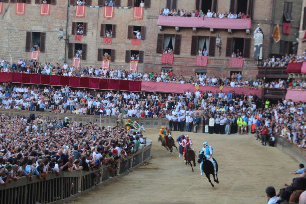 The worldwide famous Palio of Siena