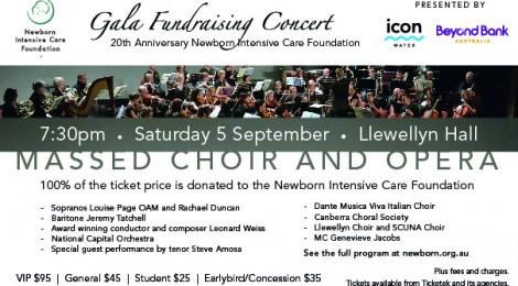 Gala Fundraising Concert
