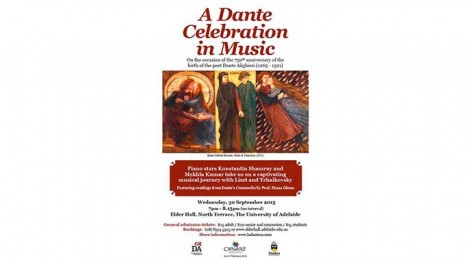 A Dante Celebration in Music