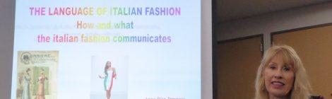 The language of Italian fashion