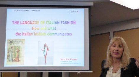The language of Italian fashion
