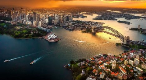 Heading to Sydney
