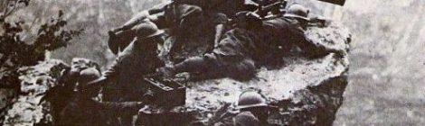 Cenno Storico - La Prima Guerra Mondiale