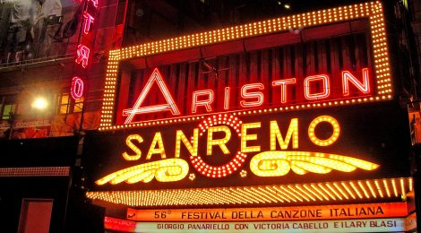 An Aperitivo celebrating Sanremo Music Festival