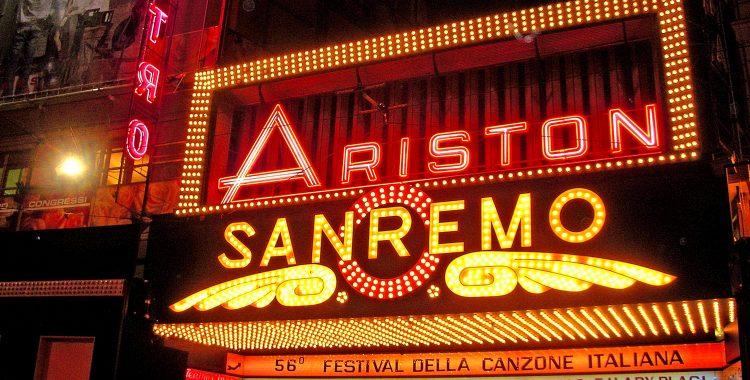 An Aperitivo celebrating Sanremo Music Festival