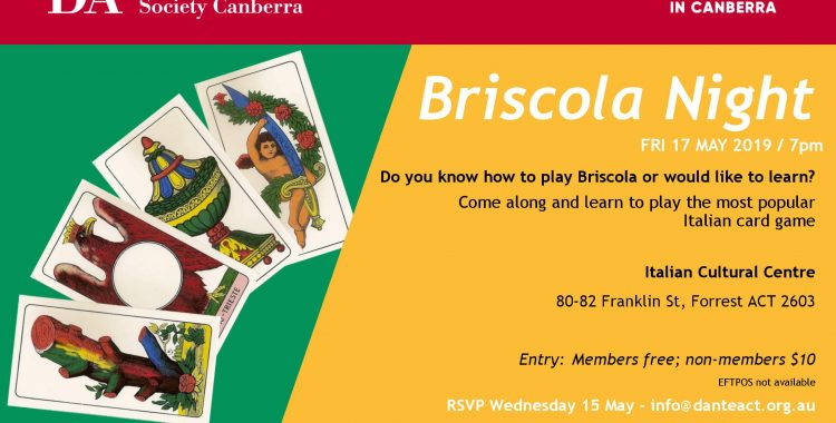 Briscola night - 17th May 2019