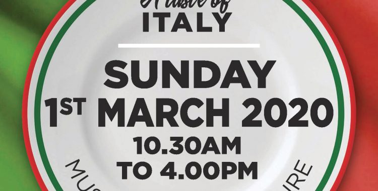 TWO GREAT EVENTS THAT INTEREST THE ITALIAN COMMUNITY OF CANBERRA