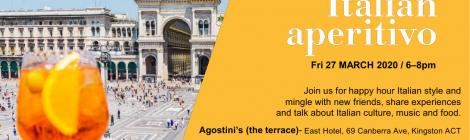 Italian Aperitivo - 27 March 2020