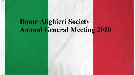 Dante Alighieri Society Annual General Meeting