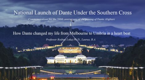 NATIONAL LAUNCH OF DANTE UNDER THE SOUTHERN CROSS