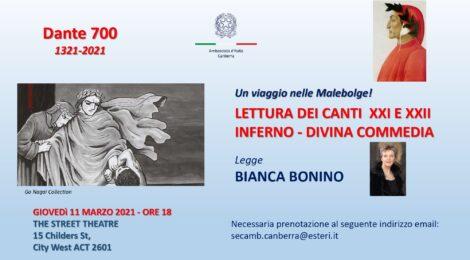 Dante 700 - Un viaggio nelle Malebolge!