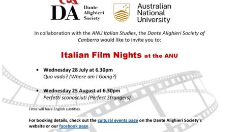 Italian Movie Nights at the ANU