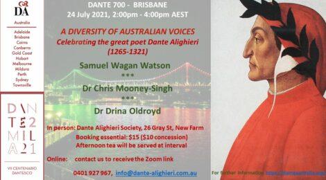 DANTE: A DIVERSITY OF AUSTRALIAN VOICES